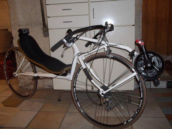 Mon nouveau vélo - un Traction Avant Directe