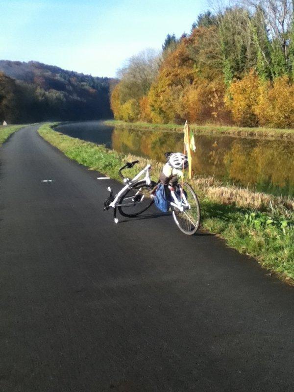 De Matzenheim à Quingey  le 7 et 8 novembre 2014