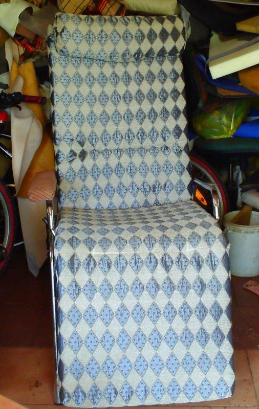 Chaise longue d'intérieur