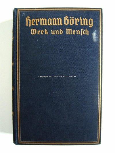 livre de Hermann Goring