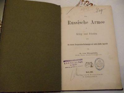 ARMEE RUSSE 1882