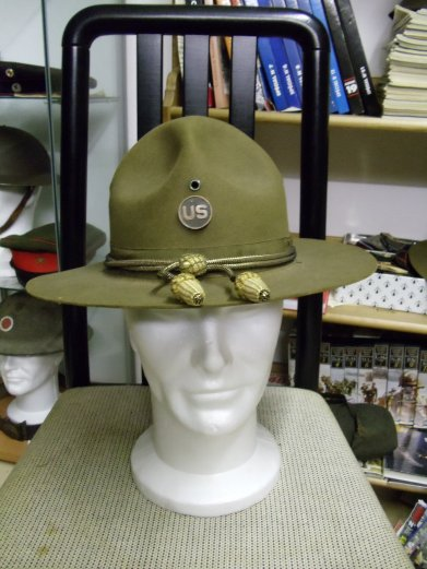 chapeau (Campaign hat) officier US army w2