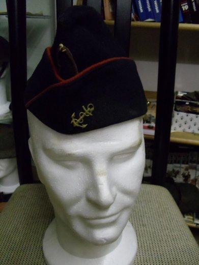 calot d'infanterie coloniale de marine