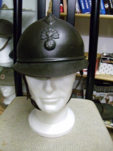 casque Adrian Mdl 15 d'infanterie