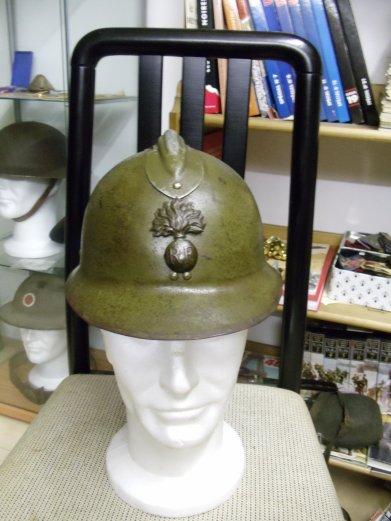 casque Adrian Mdl 26 d'infanterie