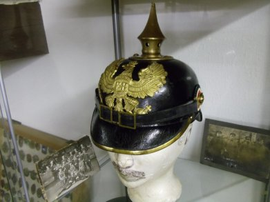 casque a pointe Prussien mdl 1895 troupe