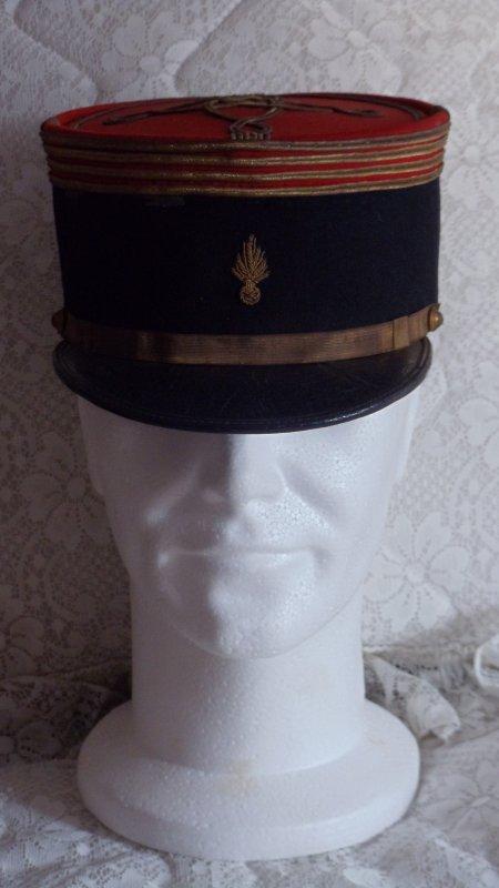 képi d'un commandant infanterie ww2