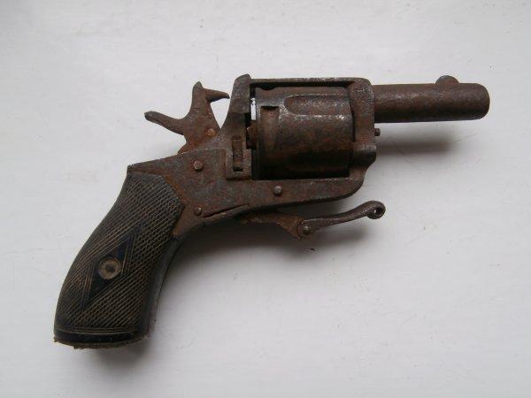 revolver de poche type Bulldog d'origine Belge