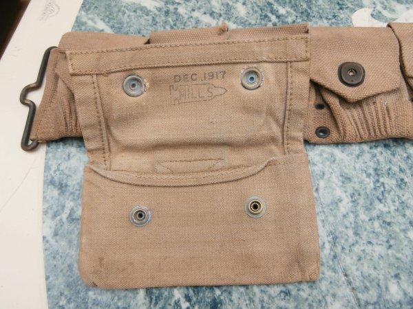 cartouchiére M18 et pantalon US  ww1