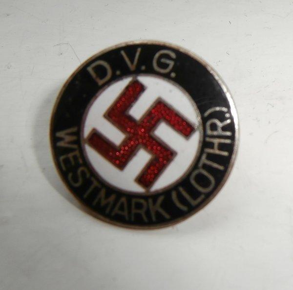 """l'insigne Allemand du """"Deustche VolksGemeinschaft"""""""