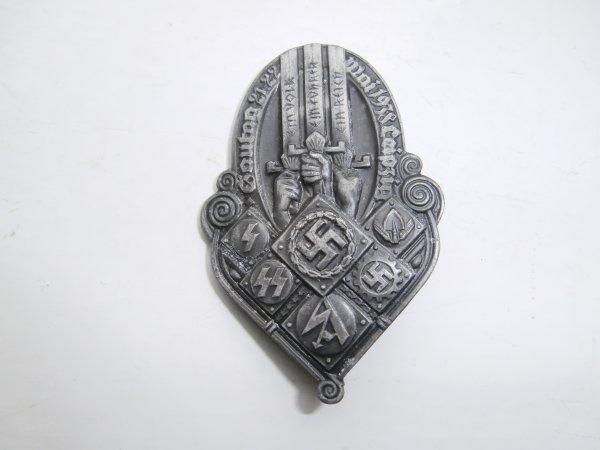 insigne allemand  Mai1938 Leipzig