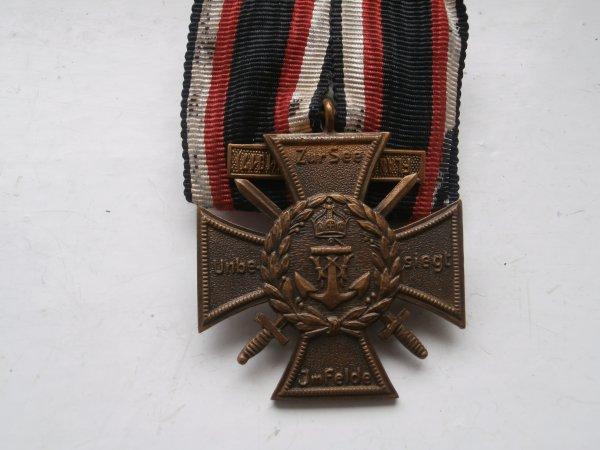 croix commémorative du corps de la Marine Allemande