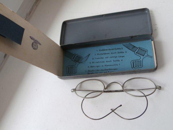 masten-Brille lunette du soldat Allemand ww2