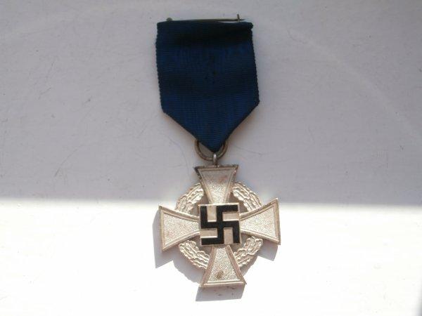 médaille Allemande  25 ans de service ww2