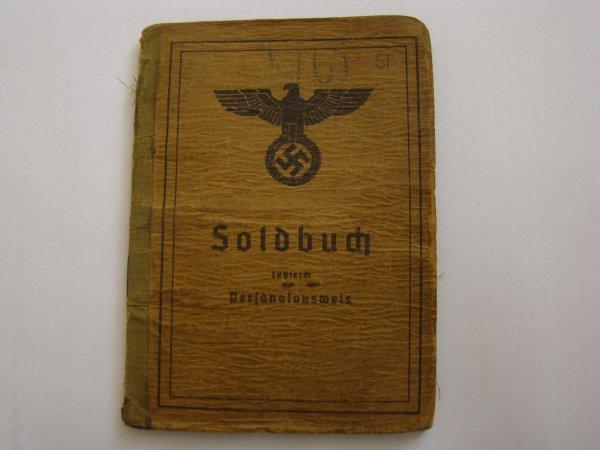 solbuch livret militaire Allemand ww2