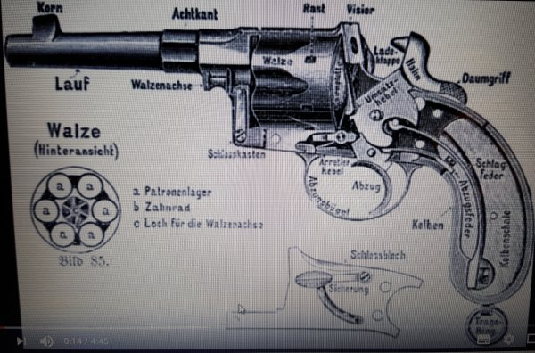 reichrevolver Mdl. 1883