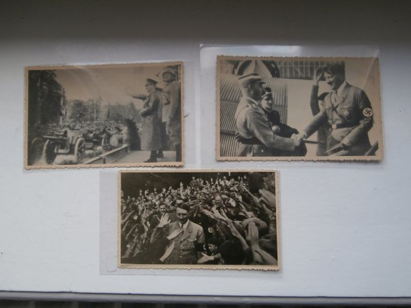 3 photos de Adolph Hitler