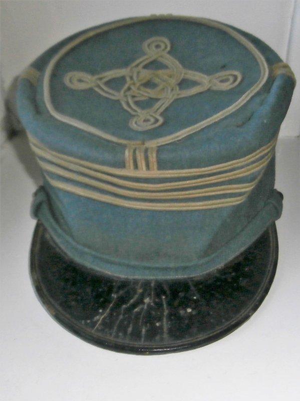 képi bleu orizon d'un commandant de 14/18