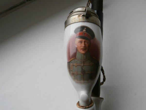 pipe offerte aux soldat Allemand de la 5éme armée