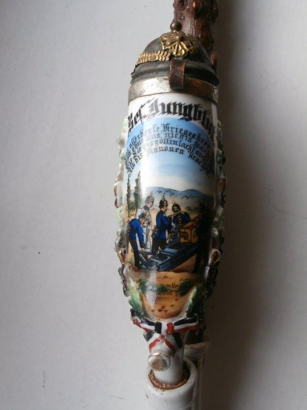 pipe de réserviste Rheinisches Fußartillerie-Regiment Nr. 8