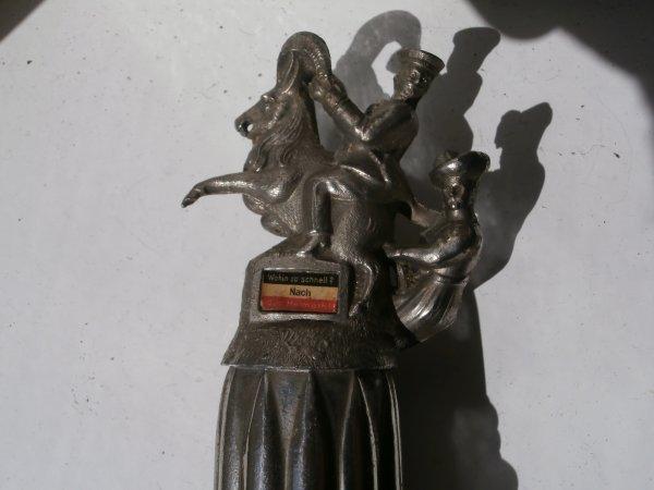 gourde de RESERVISTE ALLEMAND A METZ 3e COMPAGNIE  Pionier Battaillon NR .20 1912/1914