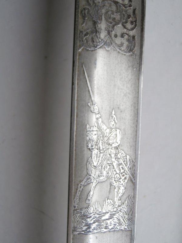 sabre d'officier Prussien de cavalerie modéle 1889