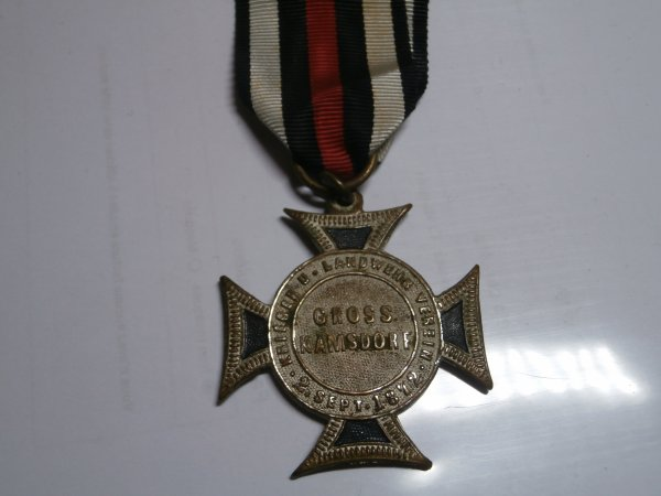 médaille Allemand croix des anciens combattants