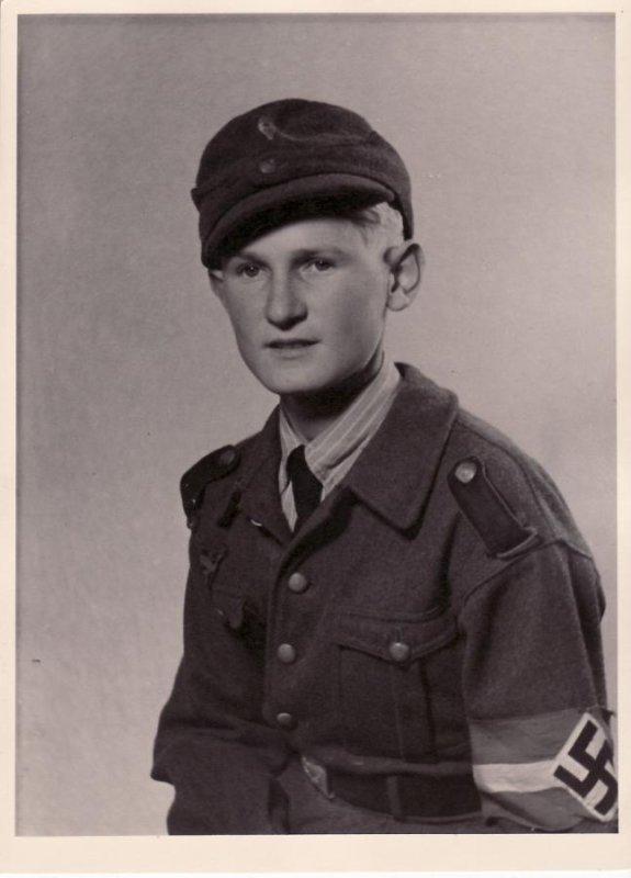 coiffe d'un HJ Luftwaffen Helfer ww2