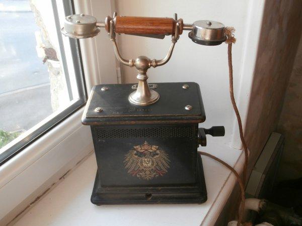 téléphone Prussien modéle 1905