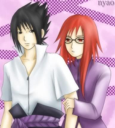 Sasuke x Karin..