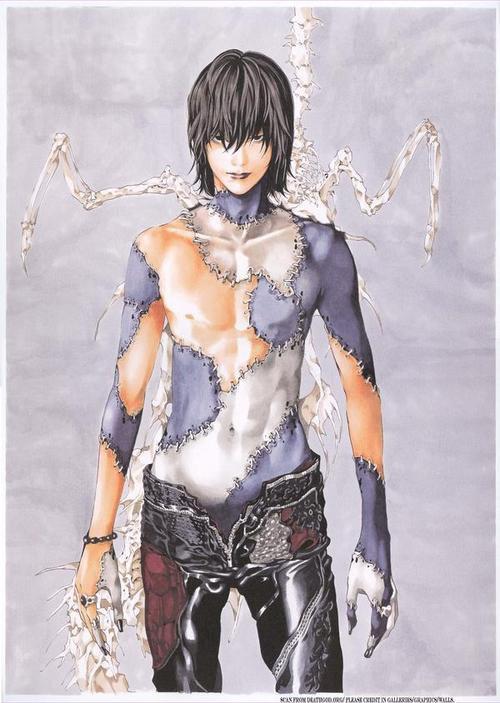Apparemment Ryuk de Death Note a été censé ressembler à un être humain