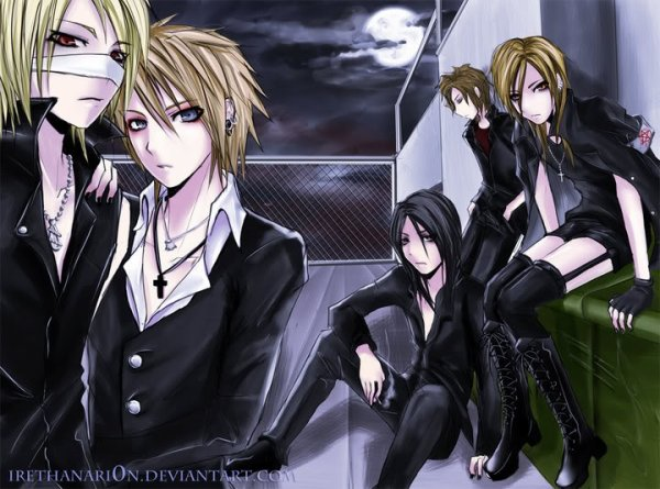"""The Gazette""   (en version manga)"