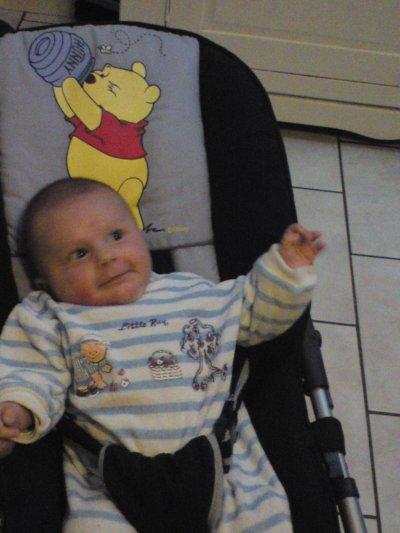mon filleul 2mois