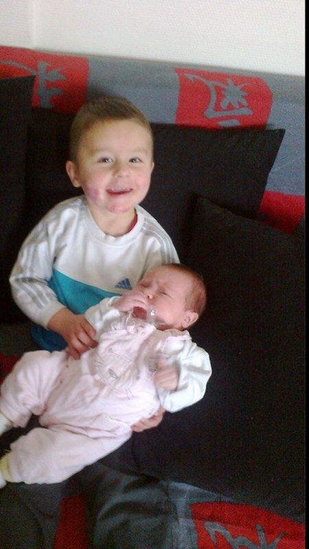 Mon Loulou et ma petite nièce