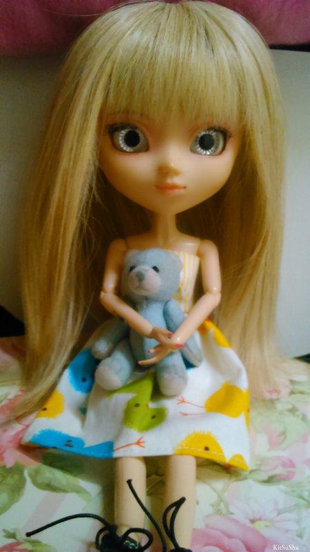 petit ours bleu