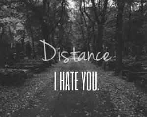 Fuck Distance.
