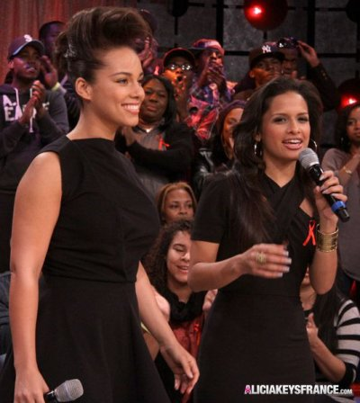 Alicia Keys à BET's 106&Park