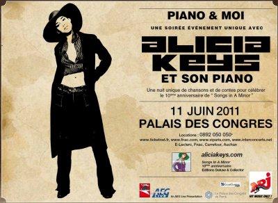 l'affiche du concert piano solo