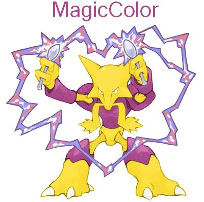 MagicColor Le Alakazam Shiney