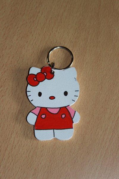 "porte clé ""HELLO KITTY"""