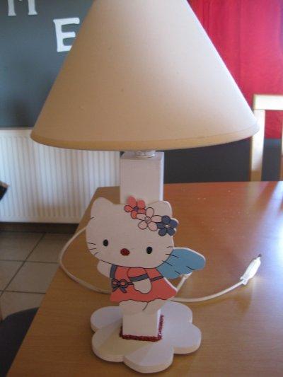 "lampe de chevet ""Hello Kitty"""