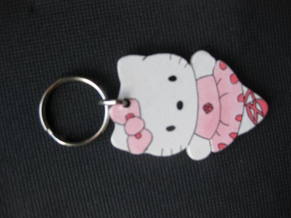 porte clé n°2 Hello kitty