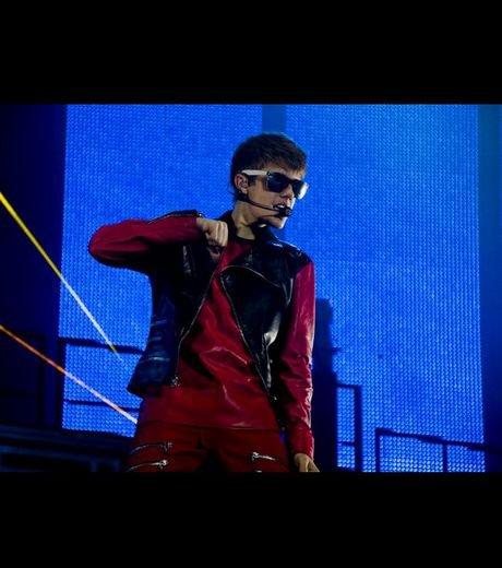 Justin Bieber met le feu à Rio
