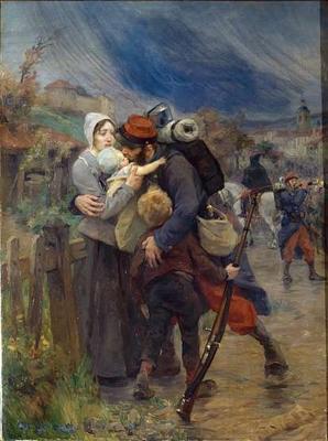 Le depart - le blog du poilu (1ere guerre mondiale-Grande...