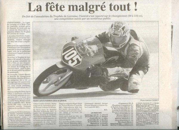 saison  2008    VITESSE   open 50cc