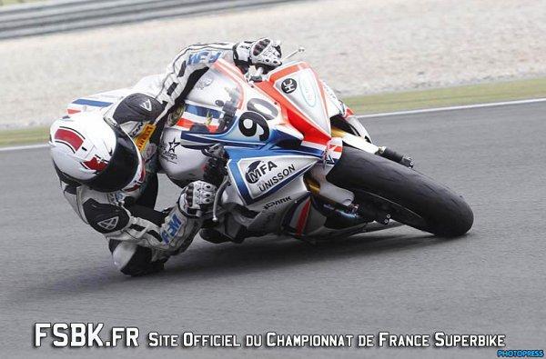 KEVIN SZALAI  CHAMPION DE FRANCE   ( Pirelli cup 600   2012 )