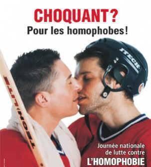 Honte a la HOMOPHOBIE !! Et ouais ;)