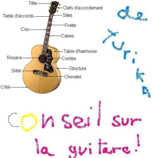 conseil sur la guitare