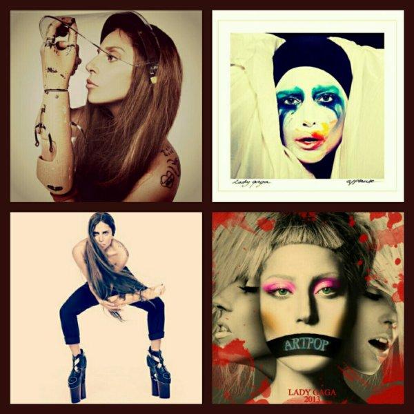 Photos : Lady GaGa continue les teasing pour son album ARTPOP