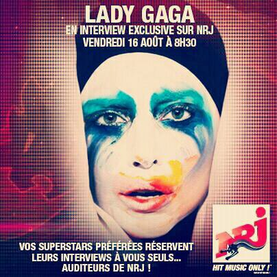 Lady GaGa - Interview NRJ